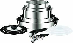 TEFAL Ingenio Stainless Steel Induction 13-Piece High Quality Pan Set
