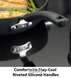 T-fal E765SC Hard Anodized Cookware Set, Nonstick Pots and Pans Set