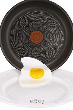 Tefal 10 Piece Ingenio Pan Set Aluminium Frying Saucepan with Detachable Handle