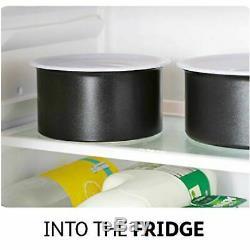 Tefal 14 Piece INGENIO Essential Non-stick Pots & Frypan Cookware SetBlackNEW