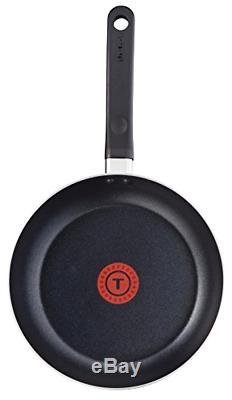 Tefal 5 Piece, Essential, Pots and Pans Set, Black, Aluminium, Non Stick