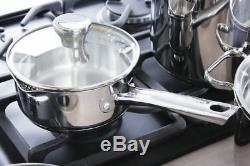 Tefal Cookware Set Duetto 10 Pcs + Frying Pan Duetto 28 CM Saucepan Stewpots New