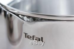 Tefal Cookware Set Duetto 7 Pcs + 1 Pcs Frying Pan Duetto 24 CM = 8 Pcs Pots Pan