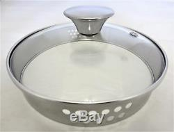 Tefal Easy STRAIN 4 Piece Non-Stick Cookware Pan Set, Glass Lid With Strainer