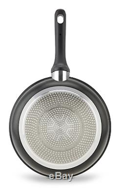 Tefal Expertise 21, 24 and 26 cm Non-Stick Aluminium Frying Pans Set of 3 with