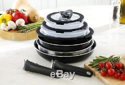 Tefal Ingenio 13 Piece Essential Non-stick Saucepan SetOven & Dishwasher Safe