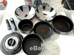 Tefal Ingenio 13 Piece elegance Non-Stick Cookware Set black -BARGAIN