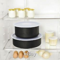 Tefal Ingenio 20pc Non-Stick Pan Set, Black