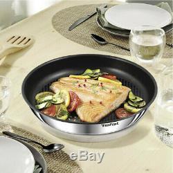 Tefal Ingenio Emotion Nonstick Frying Pan Set of 4p Dishwasher Oven Safe No PFOA