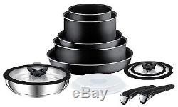 Tefal Ingenio Essential Non Induction 13 Piece Pan Set with Detachable Handles