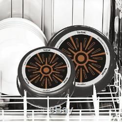 Tefal Ingenio Essential Ptfe Cookware Set 20 Pcs Pan, Pans, Lid, Lids, Saucepans