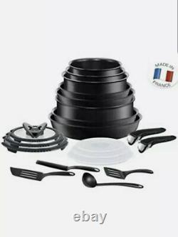 Tefal Ingenio Expertise Non-Stick Induction Expertise Cookware Set, 20 Pieces L2