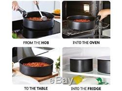 Tefal Ingenio L4759345 Enamel 13 Piece Non-Stick Cookware Set