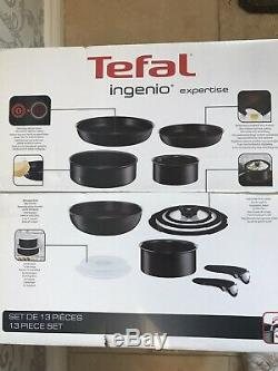 Tefal Ingenio L6509042 Induction Pan Set 13 Piece Brand New Free Post