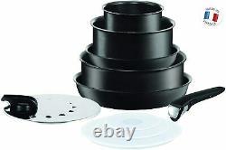 Tefal Ingenio Performance Black 10 Piece Induction Compatible Pan Set