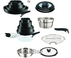 Tefal Ingenio Performance Induction Black Ultimate 23 Piece Pan Set