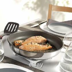 Tefal Ingenio Pots and Pans Set 13-Piece Induction L9409042 Stainless Steel