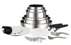 Tefal Ingenio Preference Titanium Excellence Pan Set + Accessories 15-tlg