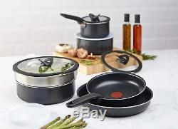 Tefal Ingenio Stackable Cookware Non-Stick Frypan/Pan/Pot Set/Induction/Lid 13pc