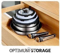 Tefal Ingenio Stainless Steel 13 Piece Pan Set