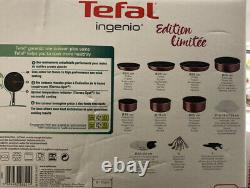 Tefal Ingenio l2289002 Essential Set for All Heat Sources Except Induction20, Red