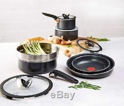 Tefal L2009142 Ingenio Essential 13 Pieces Non-Stick Saucepan Set