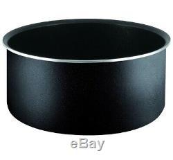 Tefal L2009542 Ingenio Essential 14 Piece Pots and Pans Set, Black
