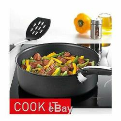 Tefal L2009542 Ingenio Essential 14 Piece Pots and Pans Set, Black- Not