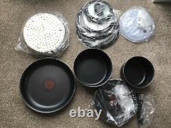 Tefal L2009542 Ingenio Essential Non-stick Pots and Pans Set 12 Piece