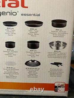 Tefal L2009542 Ingenio Essential Non-stick Pots and Pans Set 14 Piece