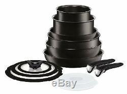 Tefal L6509042 Ingenio Expertise Non-Stick Induction 13 Piece Saucepan Set