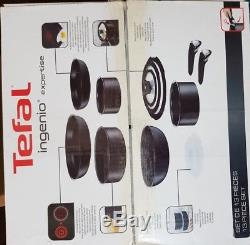 Tefal L6509042 Ingenio NonStick Induction Expertise 13 Pieces Cookware Set