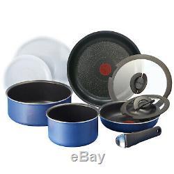 Tefal Platinum Ingenio Nonstick Frying Pan Set 9p Dishwasher Oven Safe No PFOA