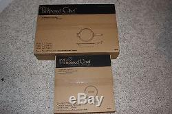 The Pampered Chef 12 covered skillet Non-stick set pan and lid, FREE SHIPPING