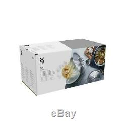 WMF Pot Set 5-Piece Provence Plus Pouring Rim Glass Lid Cromargan Stainless
