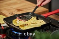 Zwieger Obsidian Frypans Set 2 Pcs Frying Pan Grill Pan 28 CM Die-cast Aluminium
